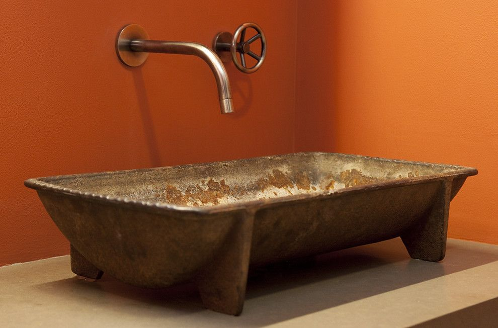 Stunning Kohler Cast Iron Bathroom Sink Image Decor In Bathroom Industrial Design Ideas With Stunning Bold