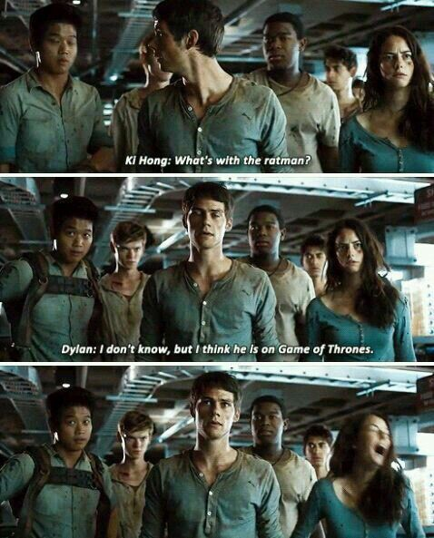 Pin By Erin Kennedy On The Maze Runner ️