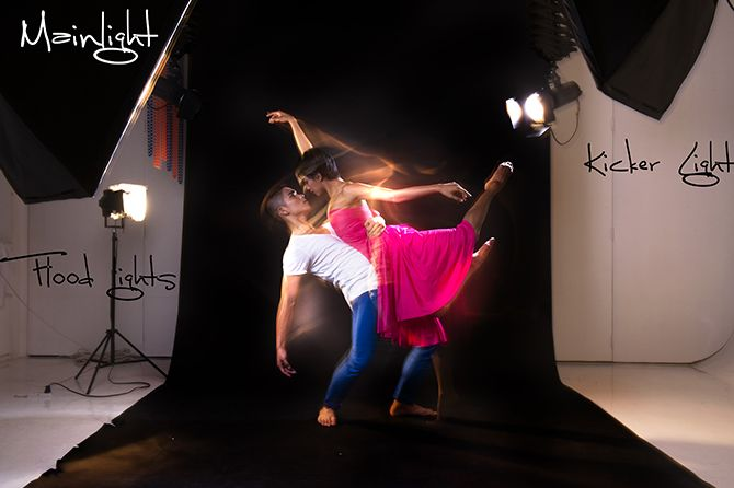 DANCE AND MOVEMENT: MIXING CONTINUOUS LIGHTS AND STROBES #danceandmovement