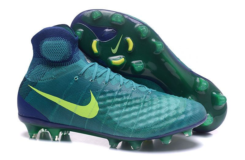 2017 Nike Magista Orden II FG green pot soccer cleats