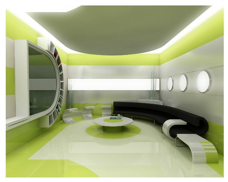 futuristic home interior. Futuristic Home Interior Design  Living Room Pictures
