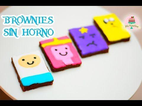 Brownies De Nutella Sin Horno Hora De Aventura Mis Pastelitos Kids Pasteles Nutella Nutella Recetas
