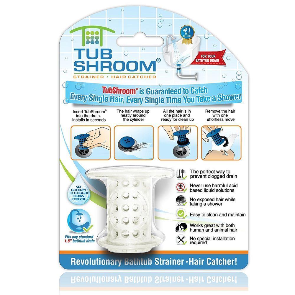 Drain strainer bath tub protector hair collector trap