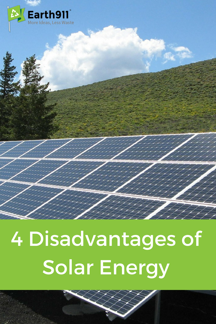 Solar Isn T All Good Here Are 4 Disadvantages To Solar Energy To Consider As You Decide What To Use Solar Solar Energy Solar Energy Panels