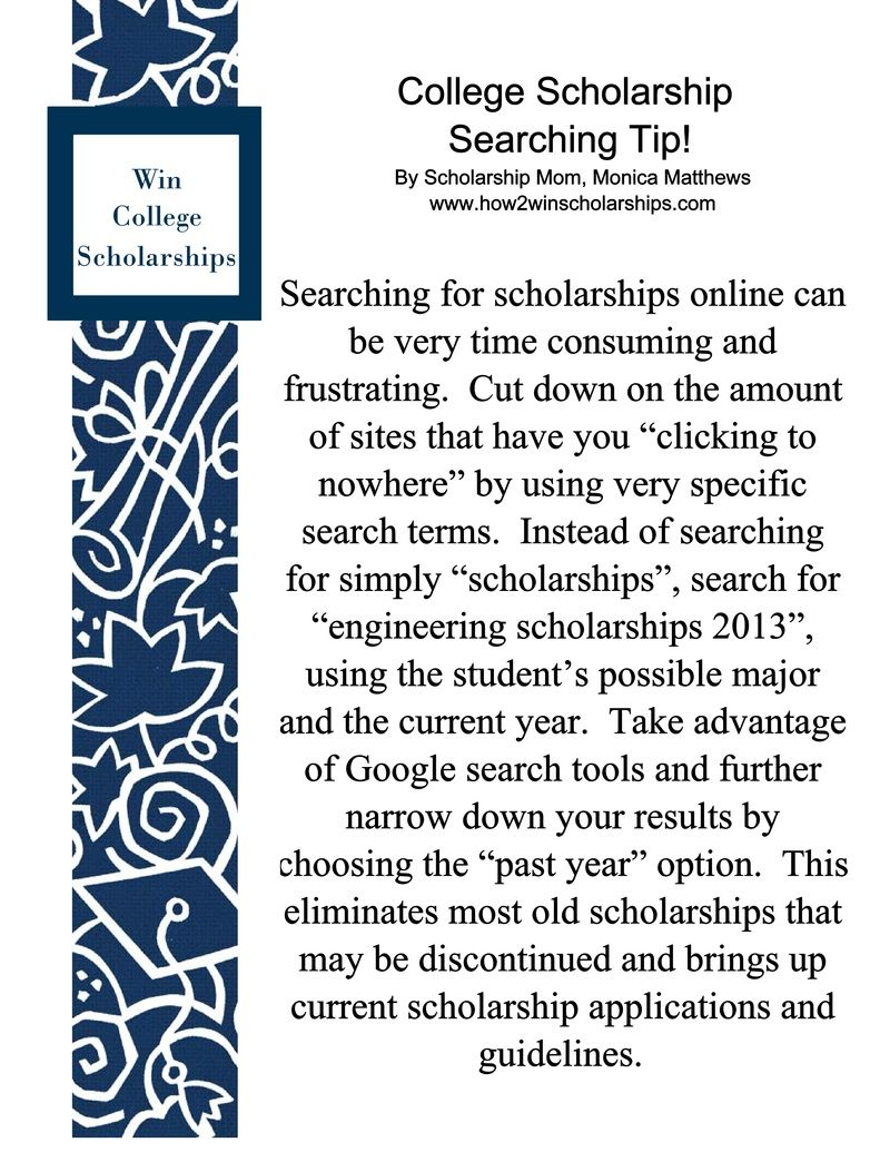 College scholarship searching tip college scholarships college