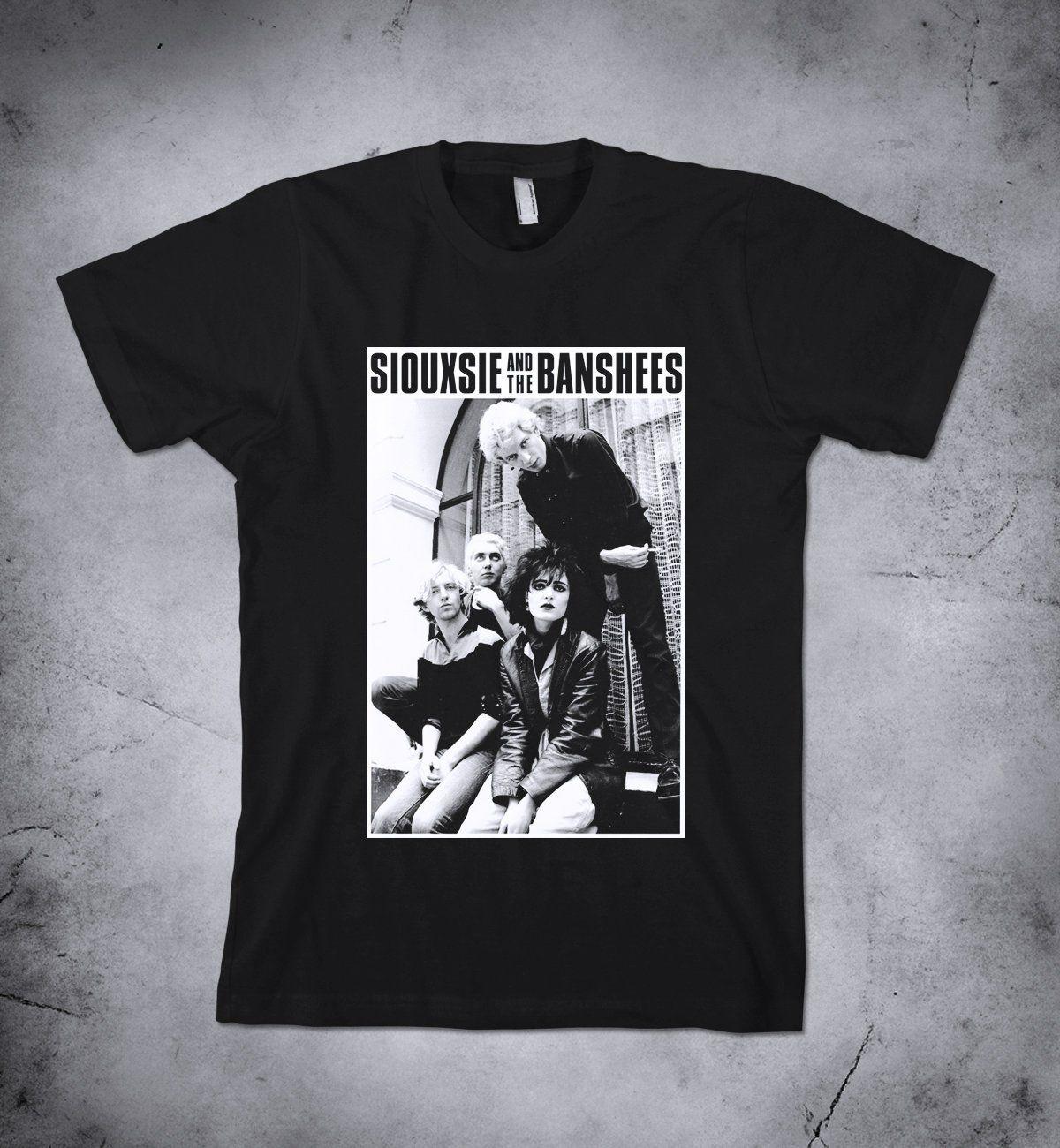 SIOUXSIE Banshees punk rock retro T shirt ALL SIZES