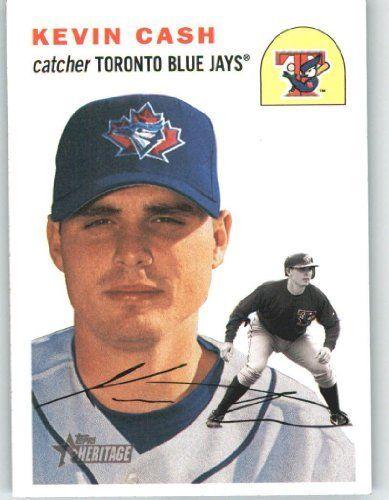2003 Topps Heritage 31 Kevin Cash Toronto Blue Jays