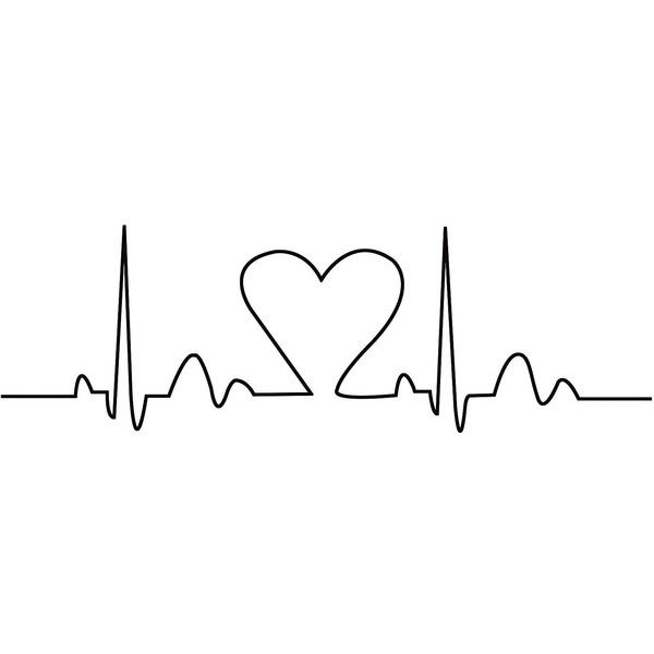 Heartbeat Wall Decor (1,840 DOP) ❤ liked on Polyvore featuring home, home decor, wall art, fillers, backgrounds, text, effects, art, doodles and quotes