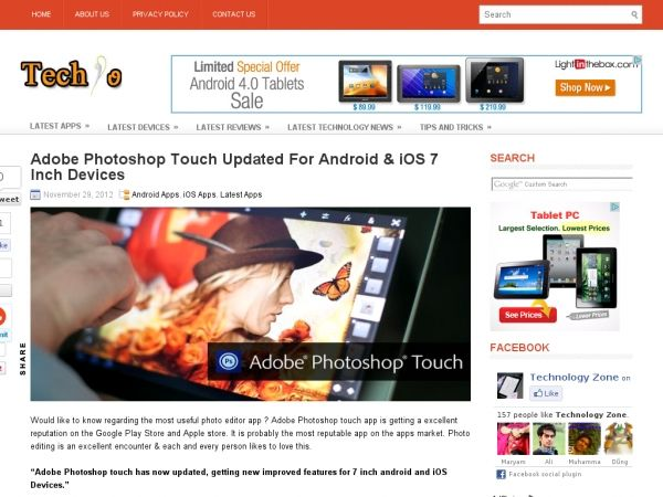 Adobe Touch Updated For Android And iOS Ios