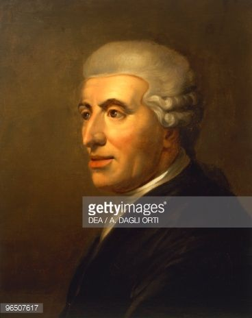 18th Century Haydn Portrait Stock Illustration