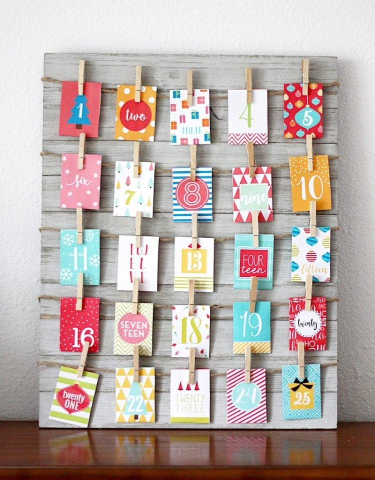 Over 20 Creative Homemade Advent Calendar Ideas To Help Children Count Down The D Homemade Advent Calendars Printable Advent Calendar Christmas Advent Calendar