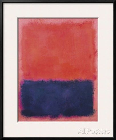 Untitled, 1960-61 Print by Mark Rothko at AllPosters.com