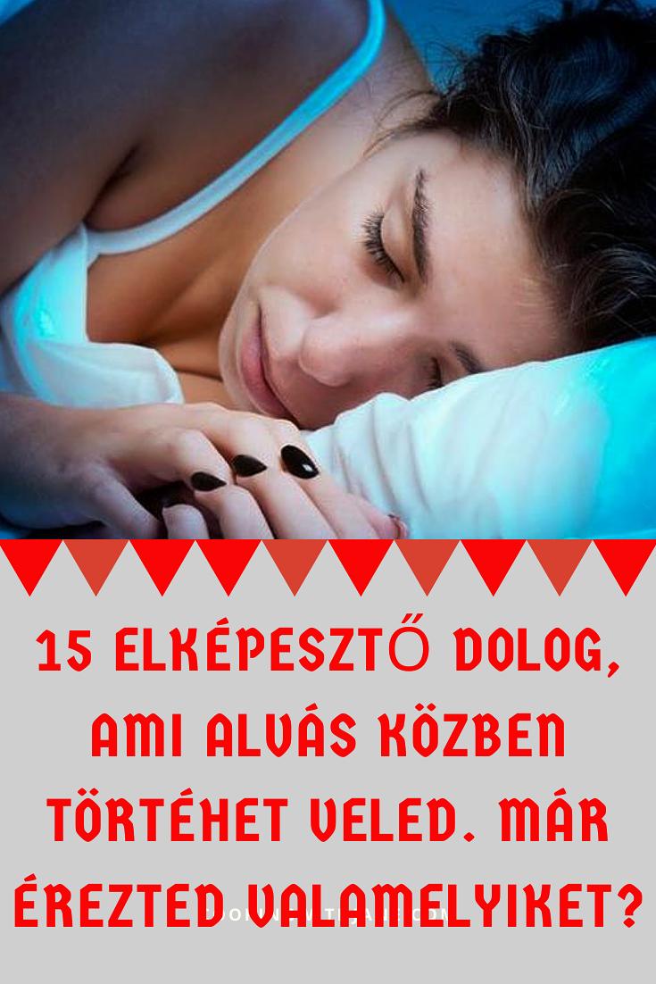 fogyjon alvás közben