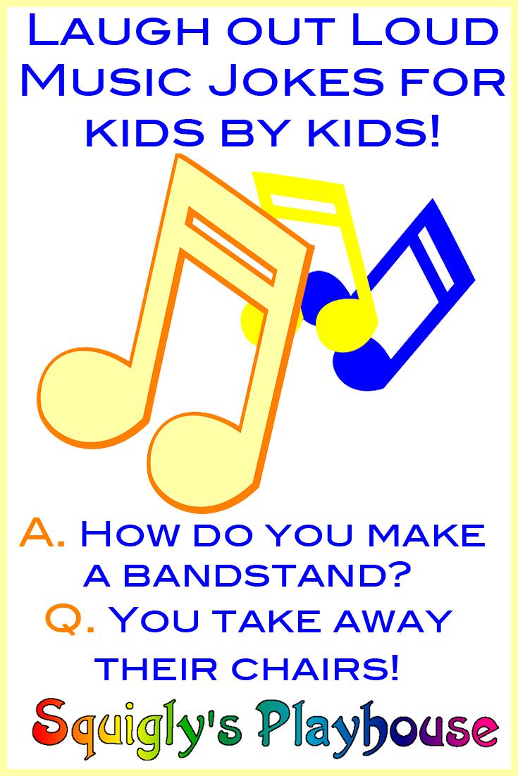 UpBeat Music Jokes for Kids Jokes for kids, Music jokes