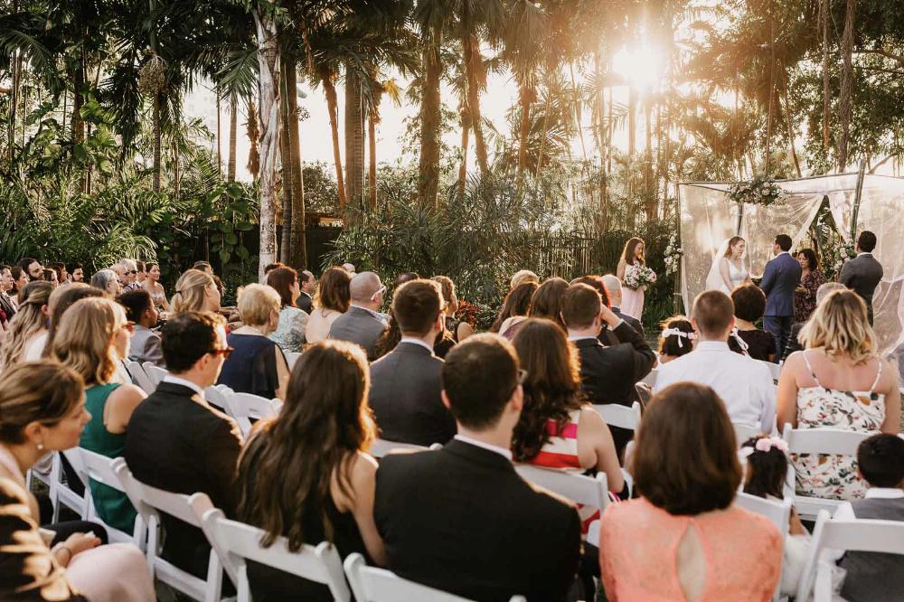 Miami Beach Botanical Gardens Wedding Pictures