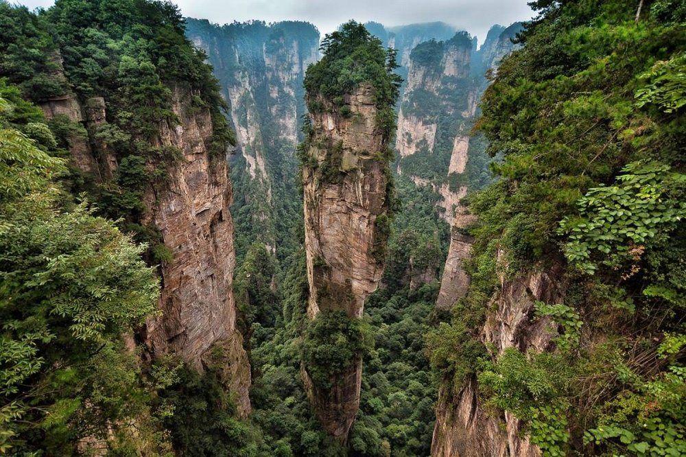 Ormanlık Kayanlar - Zhangjiajie Ulusal Parkı, Çin