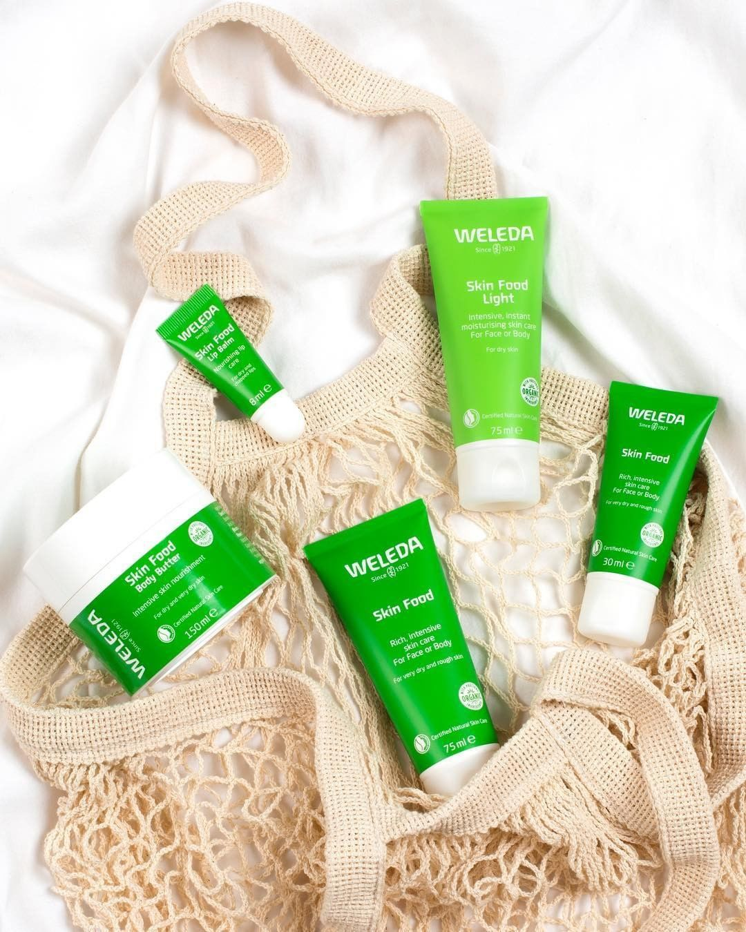 We Are So Excited To Show All These Goodies By Weledaskinfood Inspired By The Bestselling Skin Food The Iconic Cr Weleda Skin Food Skin Food Organic Beauty
