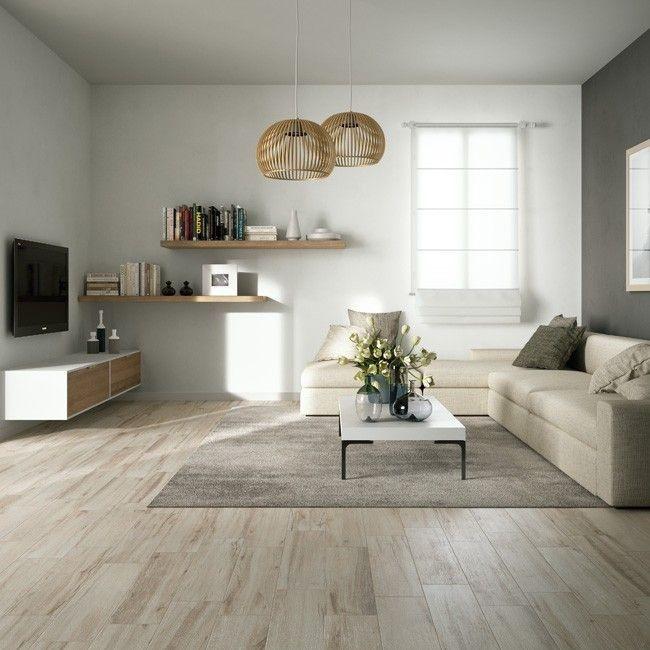 Wood Effect Floor Tiles Give Living