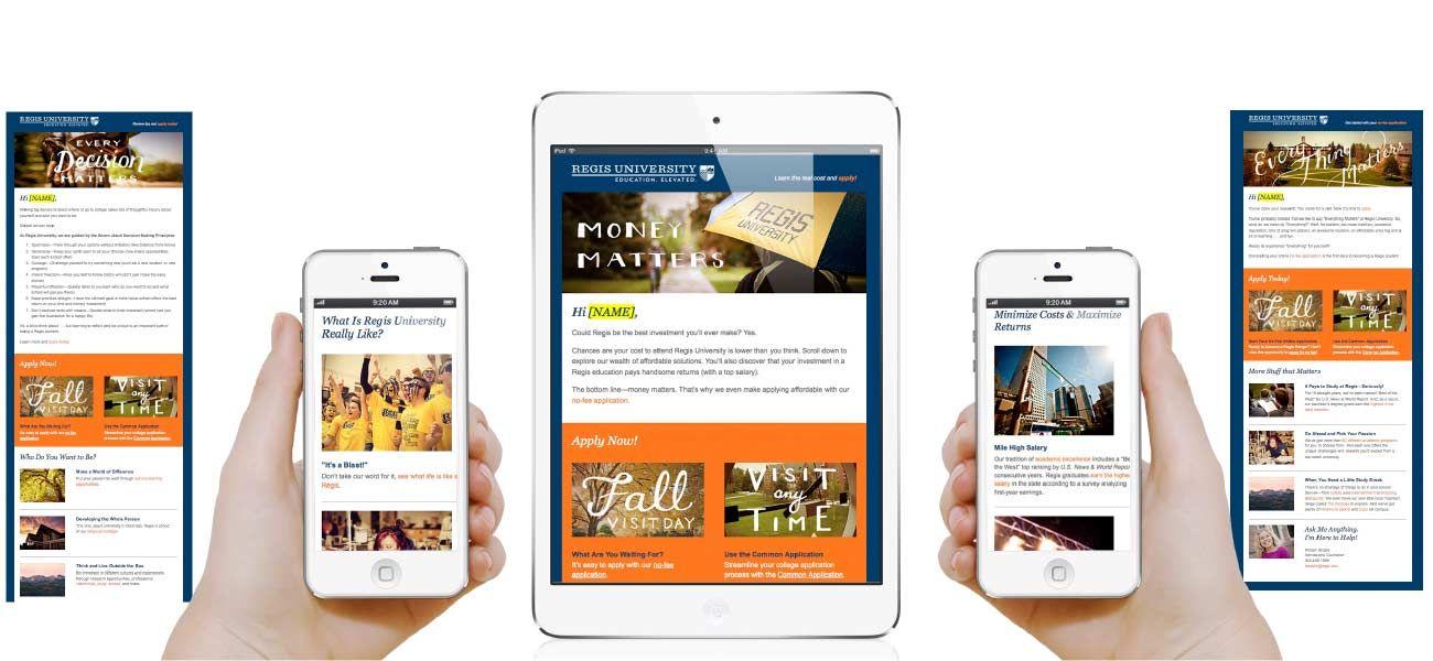 "Email Marketing Regis Universtiy's ""Everything Matters"