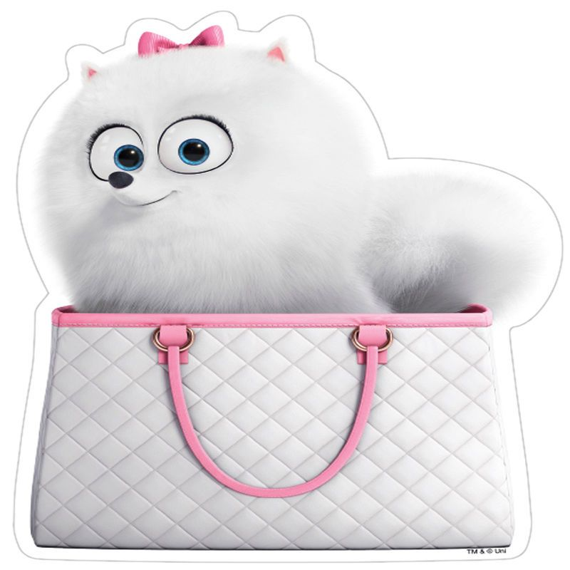 The Secret Life Of Pets Gidget Bunny Premium Quality Licensed Car Magnet Secret Life Of Pets Pets Pets Movie