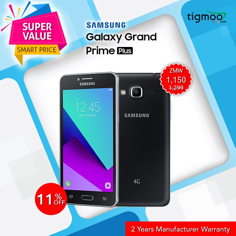 Save 11 On The Purchase Of Samsunggalaxy Grandprimeplus G532f 8gb Samsung Galaxy Galaxy Grand Prime Galaxy