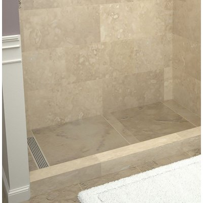 Tile Redi 72 X 36 Single Threshold Shower Base With Drain Cover