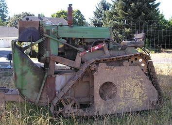 JD 420 Hi-Crop Crawler