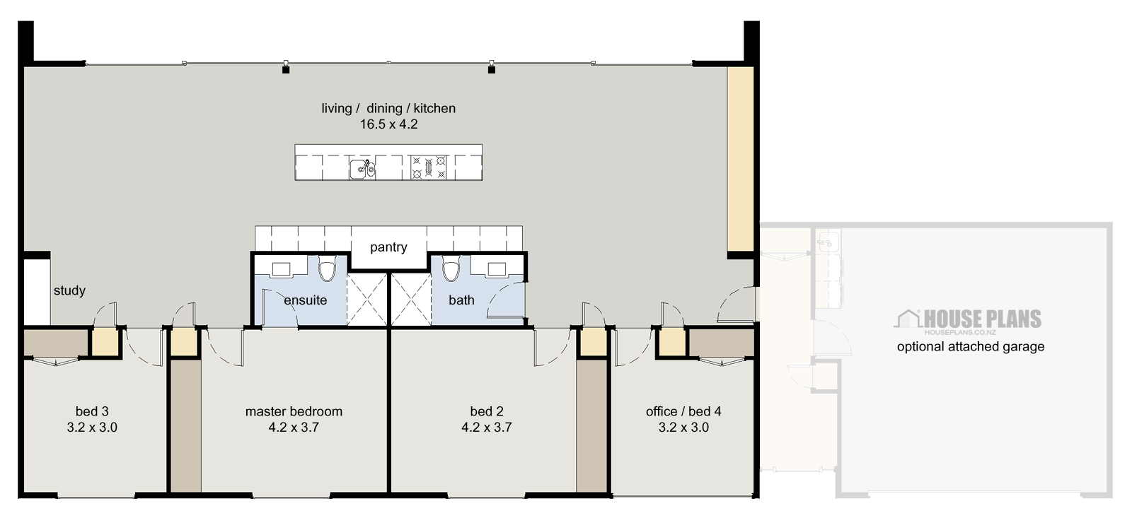 4 Bedroom Home Plans And Designs Symmetry Posted In 4 Bedroom House Plans Modern Homes  House