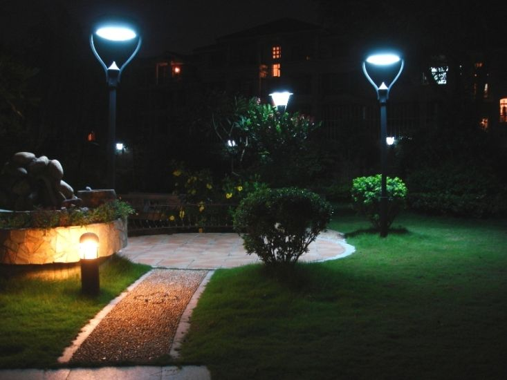 timeless design 79fb5 f0d27 LED outdoor lights for garden and yard | Lighting | Backyard ...