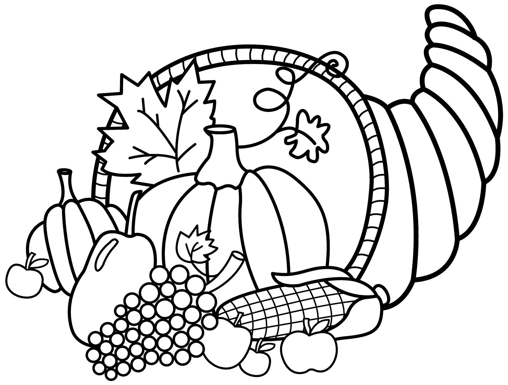 free thanksgiving coloring pages to print mandala amp scarecrow - HD 1778×1349