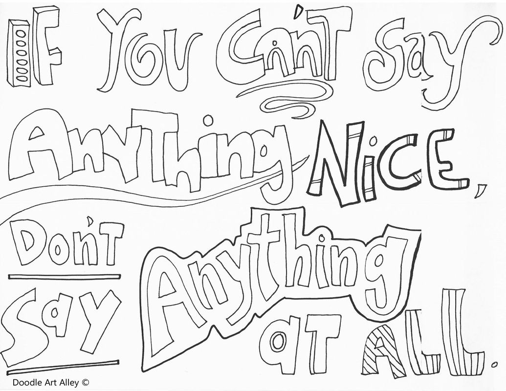 picture - Free Coloring Pages On Bullying