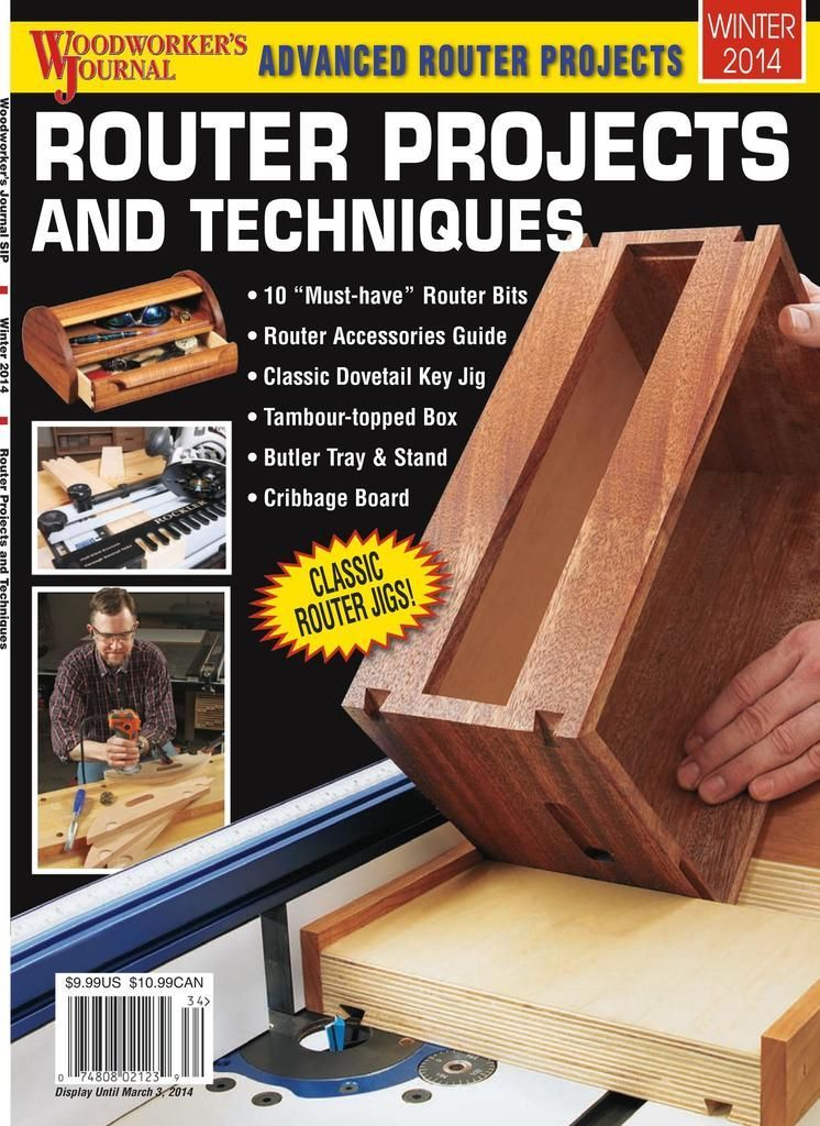 Woodworker S Journal Back Issue Winter 2014 Digital In 2020 Woodworking Hand Tools Kreg Jig Projects Router Jig