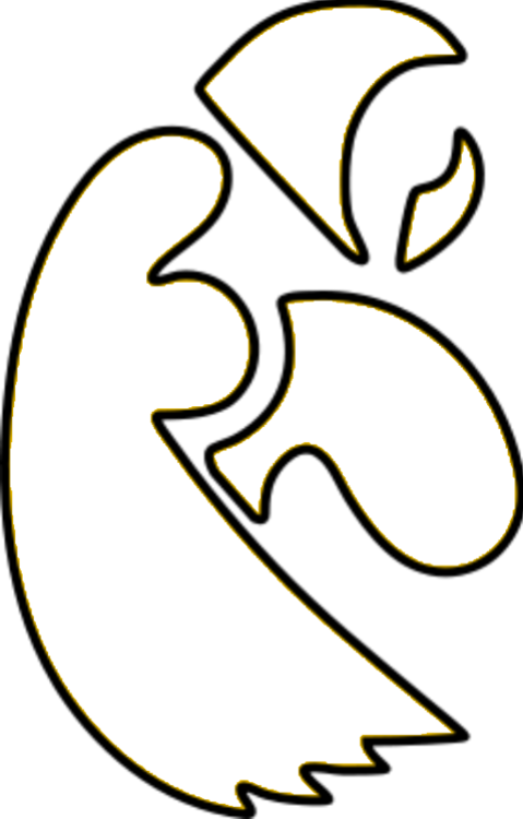 Hawkeyes Logo Potential Stencil Iowa Hawkeyes Diy Iowa Hawkeye Football Iowa Hawkeye