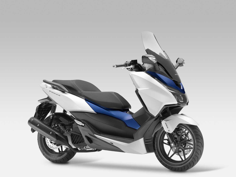 Honda Apresenta Novo Scooter Forza Irmo Menor Do PCX