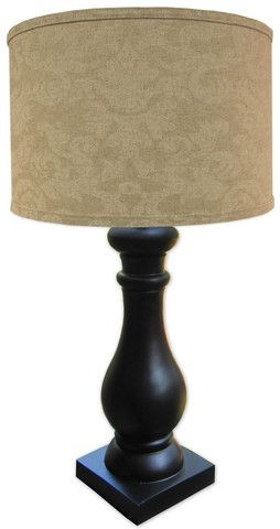 Linen Damask Table Lamp Lamp Table Lamp Table