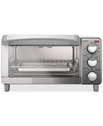Black Decker To1760ss 4 Slice Toaster Oven Stainless Steel