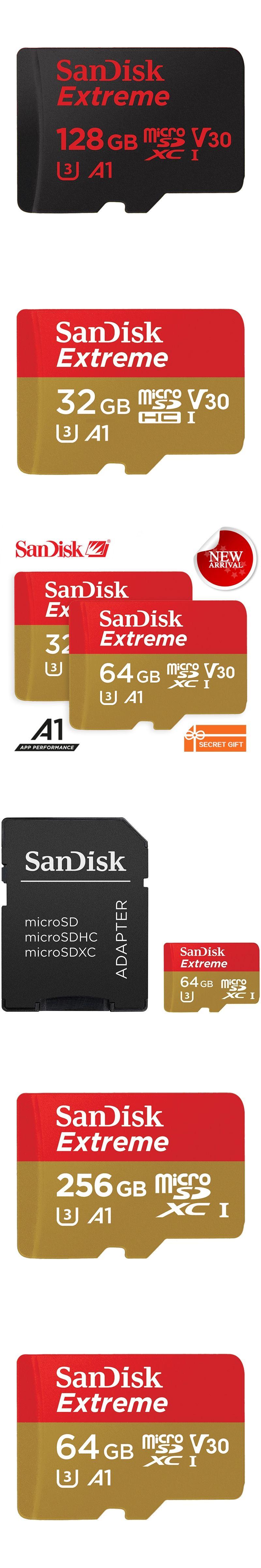 Sandisk Memory Card Extreme Microsd Uhs I Microsdhc Microsdxc Trans 32gb Flash Class10 U3