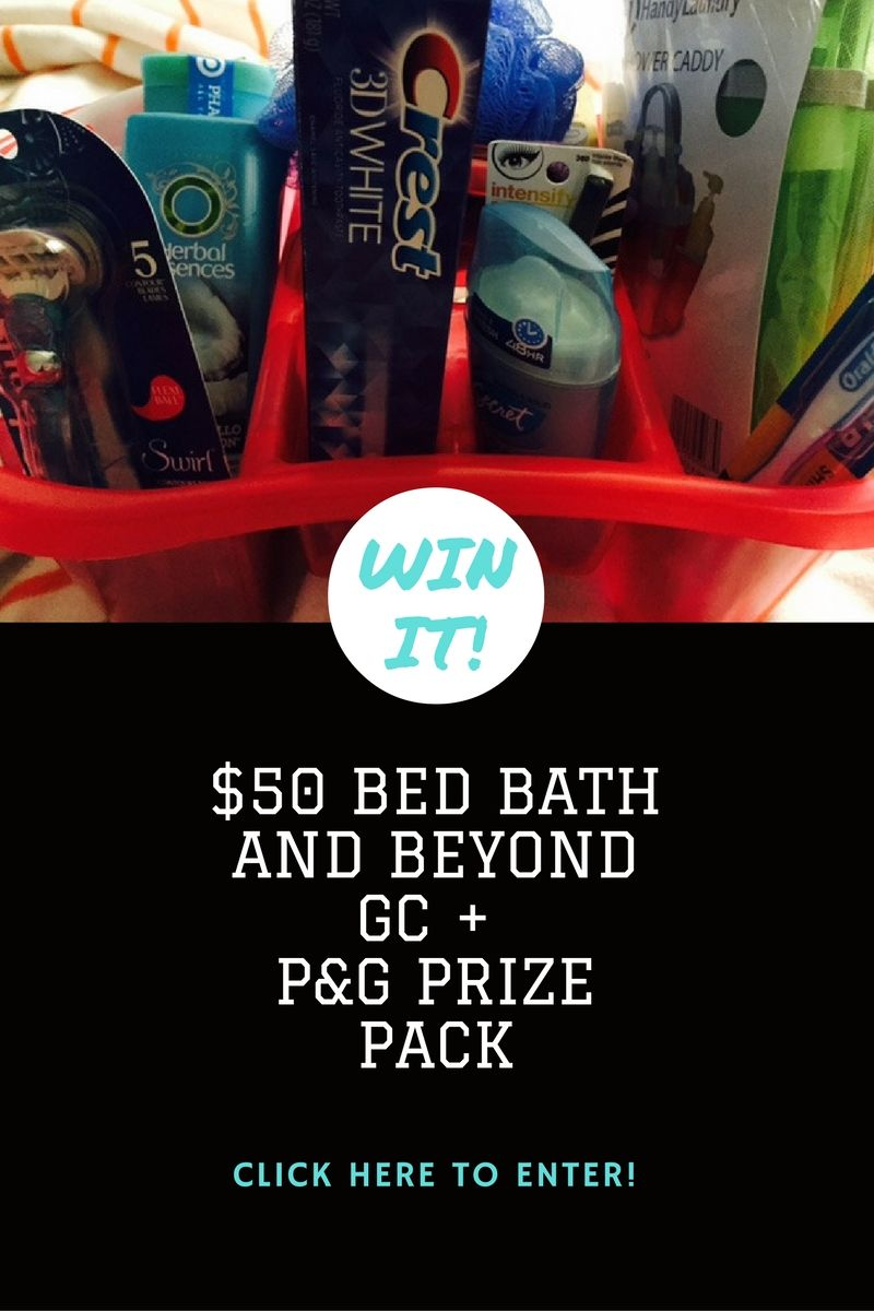 Win It 50 Bed Bath And Beyond Gift Card Plus Proctor And Gamble Prize Pack Click Here Collegespeak Bedbathbeyond Ad P Bed Bath And Beyond Packing Gambling