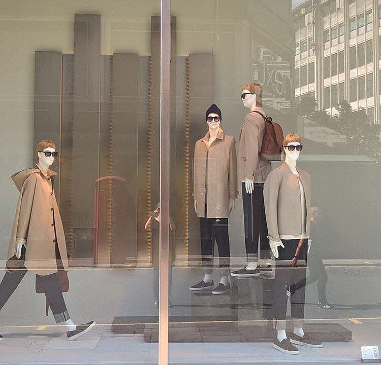 "ZARA,London,UK, ""A Fresh Coat..... for Autumn/Winter"", pinned by Ton van der Veer"