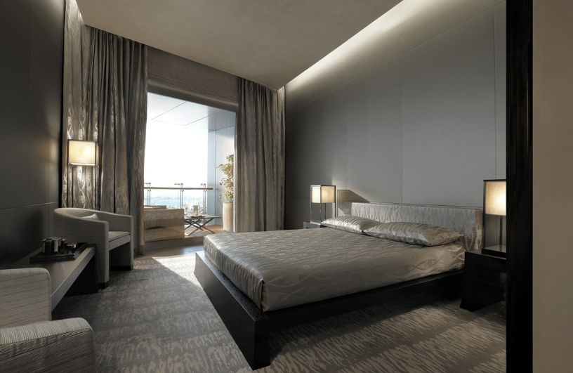 Armani Casa Bedroom Option 5 Luxury Mansions Interior Armani Interior Design Modern Chic Bedrooms