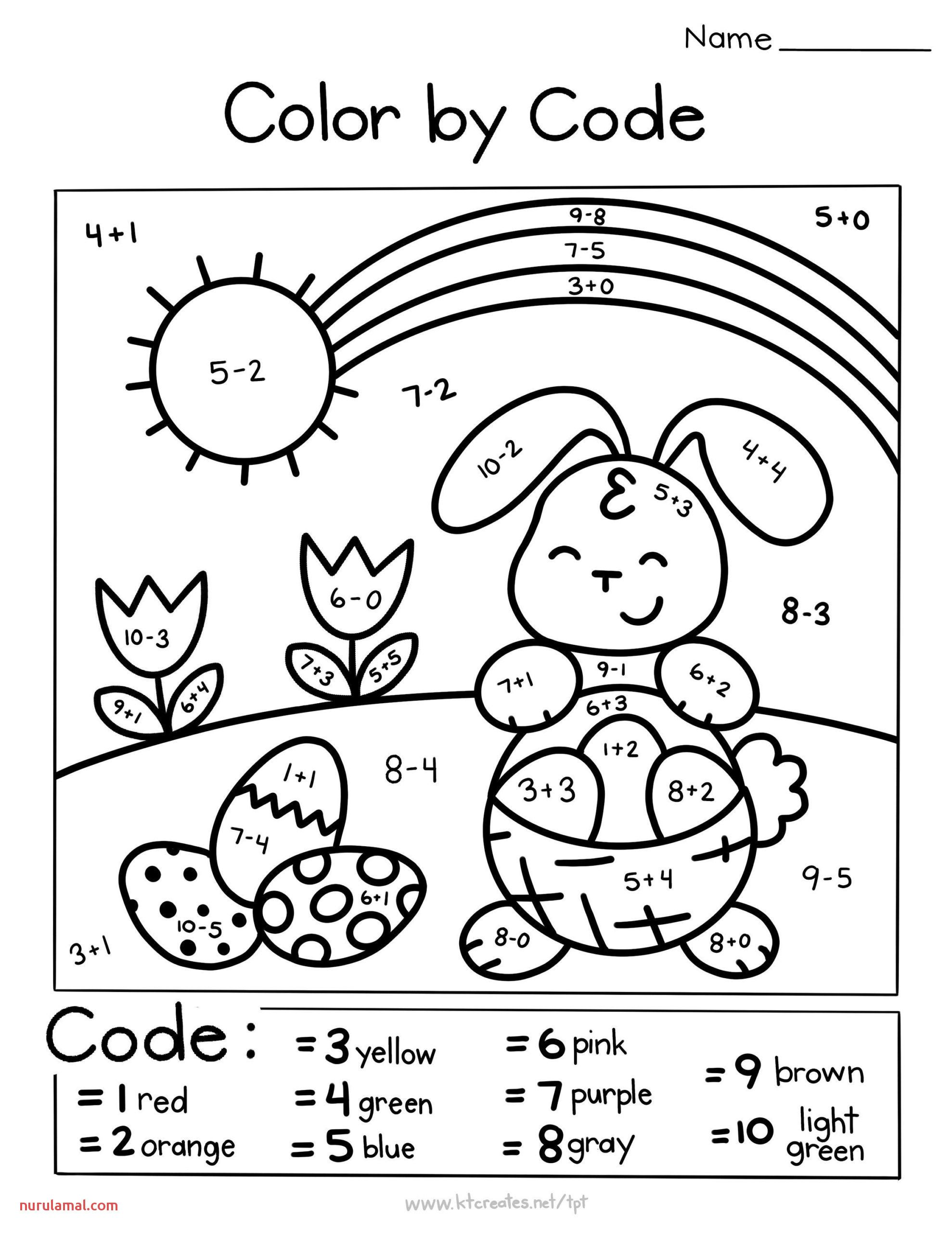 Easter Preschool Bunny Trace Worksheets 1 In