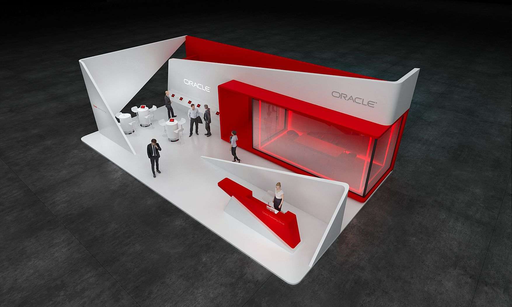 Exhibition Stand Designers Amp Builders : Oracle exhibition stand design idea gm stand design