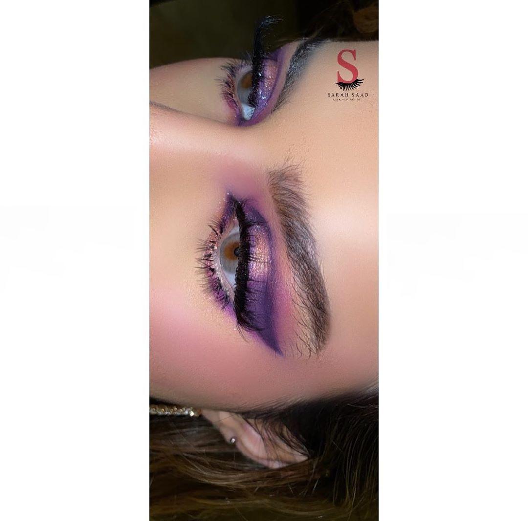 ساره سعد Makeup Artist On Instagram لفو شوفو كيف وسعت جفنها و خففت تبطينة عينها طبعا الميك اب فانتزي فقط للتصوير تغي Nose Ring Makeup Watercolor Tattoo