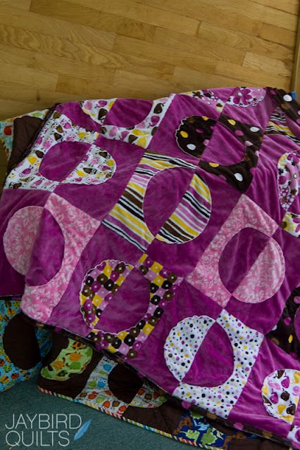 I love purple. Opposites Attract by Jaybird Quilts