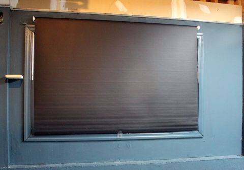 inexpensive black out blinds from Ikea