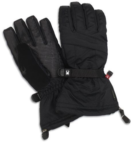Spyder Men's Conduct Overweb Gore Tex Ski Glove, Black/Black, Large by Spyder. $100.00. From the Spyder Active Sports accessories collection.