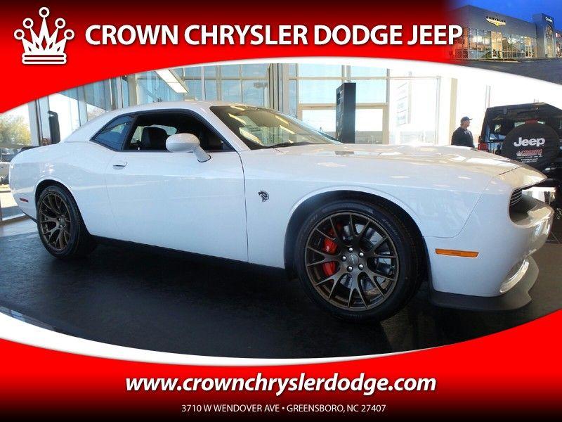New 2016 Dodge Challenger Srt Hellcat For Sale In Greensboro Nc