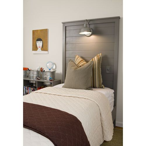 Liam Wooden Bed Headboard With Lights Home Home Decor