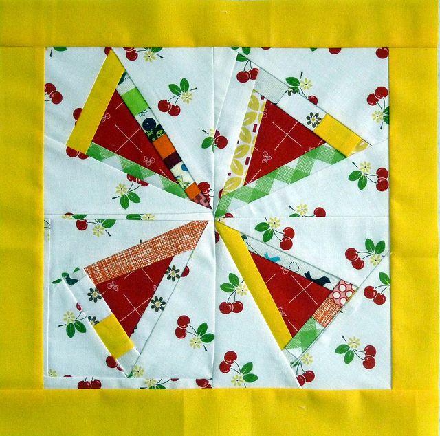 My block - for the modern block quilt along on @Seamedu Media School Pune