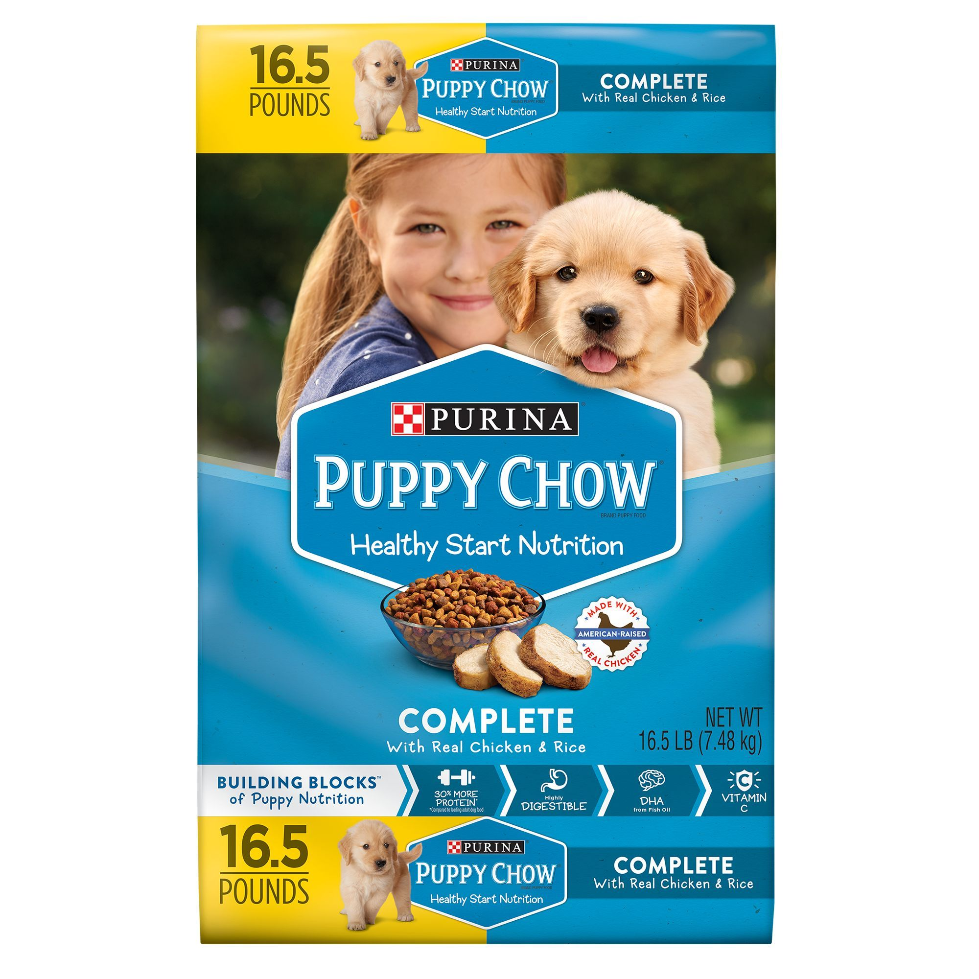 Purina Puppy Chow Complete Puppy Food Chicken Products